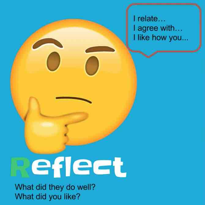 Reflect is one way in the RISE feedback method to provide useful feedback