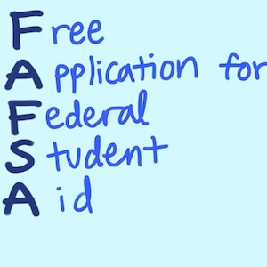 The FAFSA is where most financial aid begins