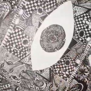 How to Draw a Zentangle Drawing