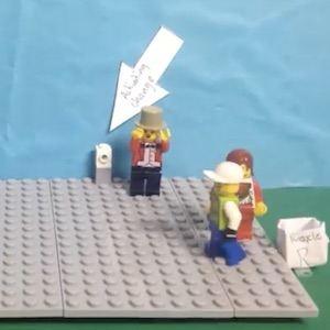 Lego people decide to change the way they handle their trash
